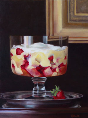 Painting of a trifle